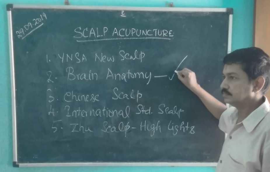 Scalp Acupuncture Class