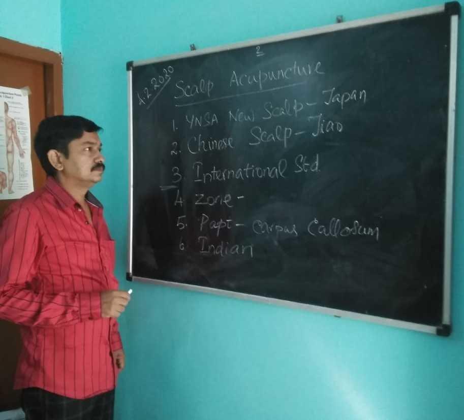 Scalp Acupuncture Class in Chennai
