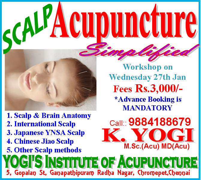 Scalp Acupuncture Classes in Chennai